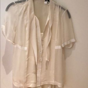 Gorgeous Vince sheer blouse perfect condition